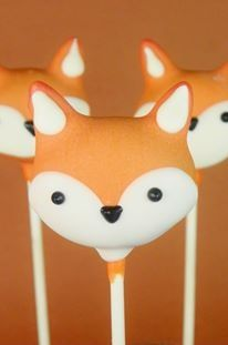 Wolf Cake Pops Fox Cake Pops What does the fox say party