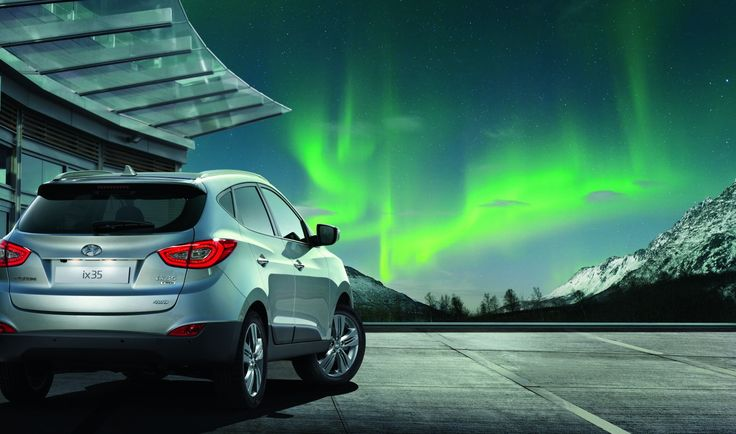 Niecodzienna stylistyka  Inspirowany kształtami natury, nowy Hyundai ix35 zyskał jeszcze bardziej nowoczesny wygląd, który przyciąga spojrzenia.