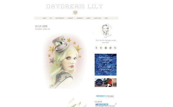 Our debut in Daydream Lily blog. #BecWinnel #daydreamlilly #art #