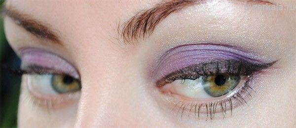 Макияж дня: Светящийся пурпур