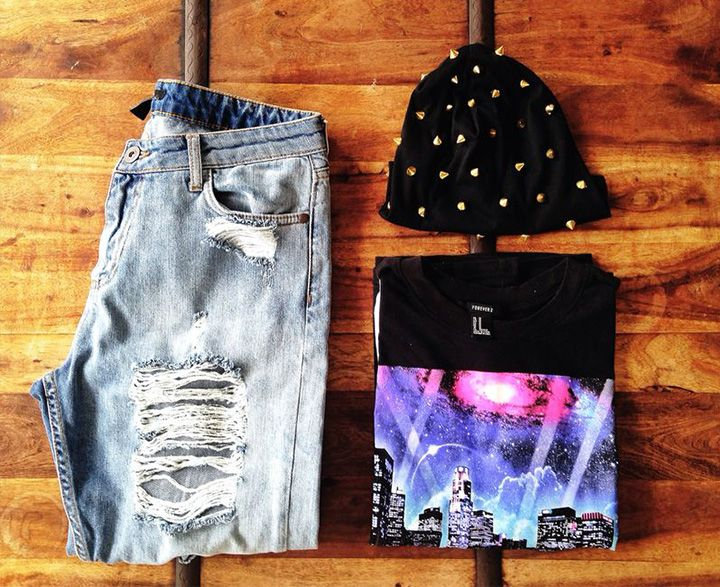 Foto frontal outfit