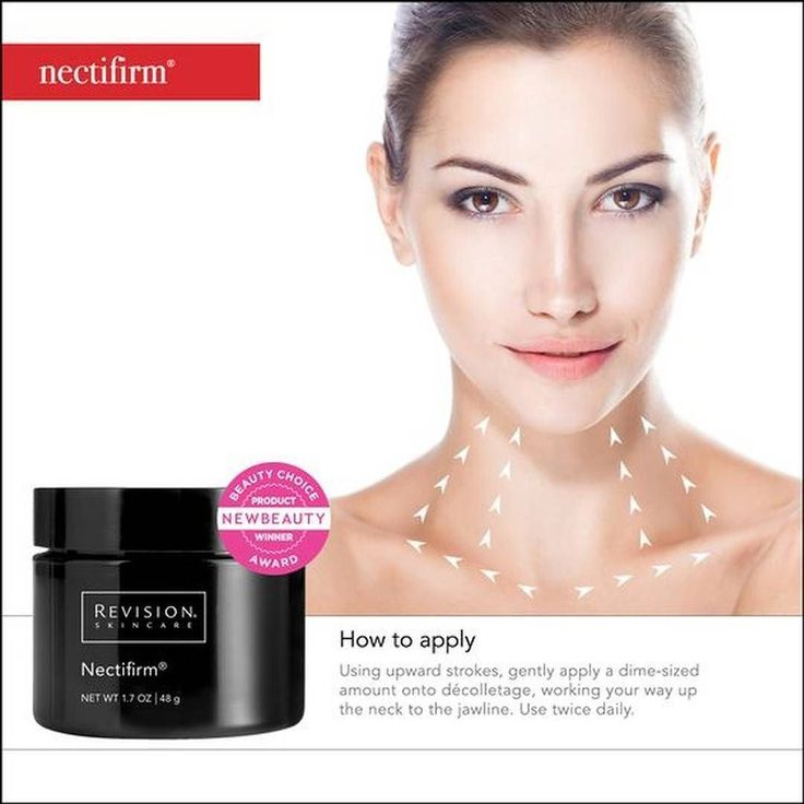 With so much focus on our complexion we often forget to take care of our neck area. Keep your neck firm and supple with Revision's Nectifirm. Stop by our office today to purchase your Nectifirm for $78 #Revision #SkinCare