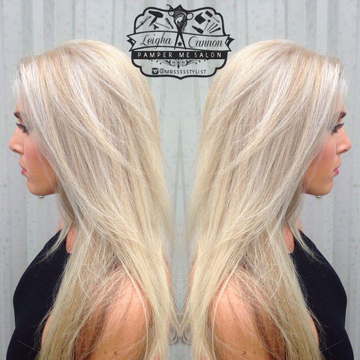 Ice blonde hair Instagram @mrssssstylist Facebook: Leigha Does Hair