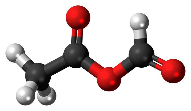 Acetic Formic Anhydride Molecule transparent image