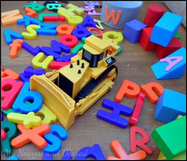Alphabet Construction Site: Letter Recognition Activity for Preschoolers - My Nearest And Dearest