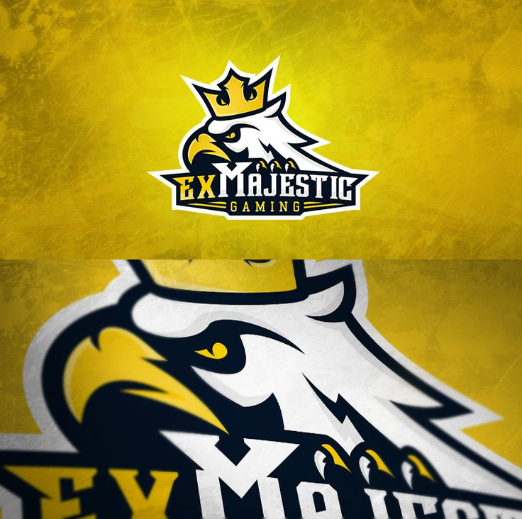 ExMajestic logo design by MYeSportdesign