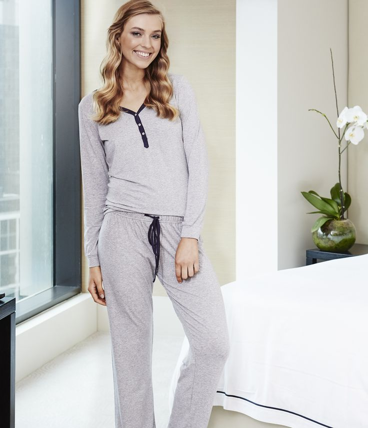 Coco - classic Gingerlilly styling. This modal pyjama set will be a favourite