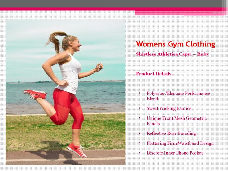 Womens Gym Wear  High quality gym wears are specially designed not only to help you stay safe and comfortable, but also to make your workout more effective and help you get the results you are looking for.