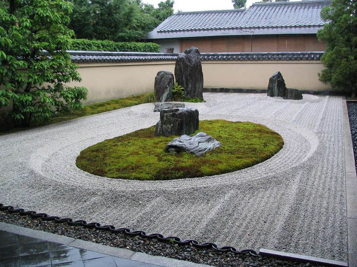 298 best peaceful japanese gardens images on pinterest for Japanese zen garden design