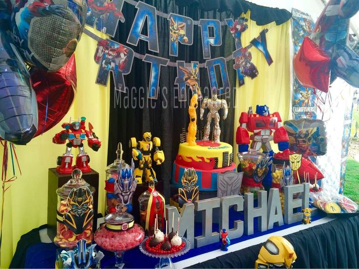 Transformers Birthday Party Ideas | Photo 20 of 22 | Catch My Party