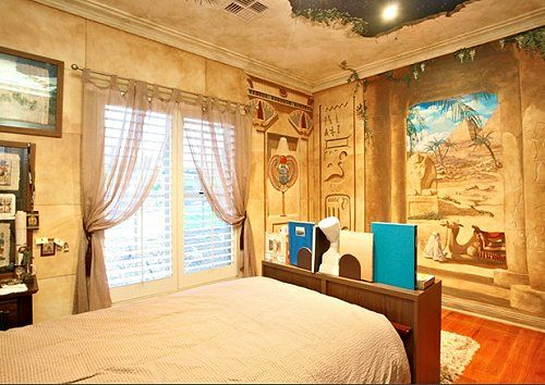 Ancient Egyptian Style Bedroom