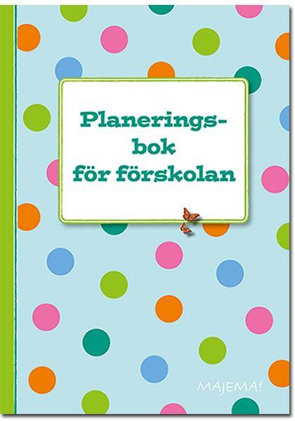 Planeringsbok för förskolan 600