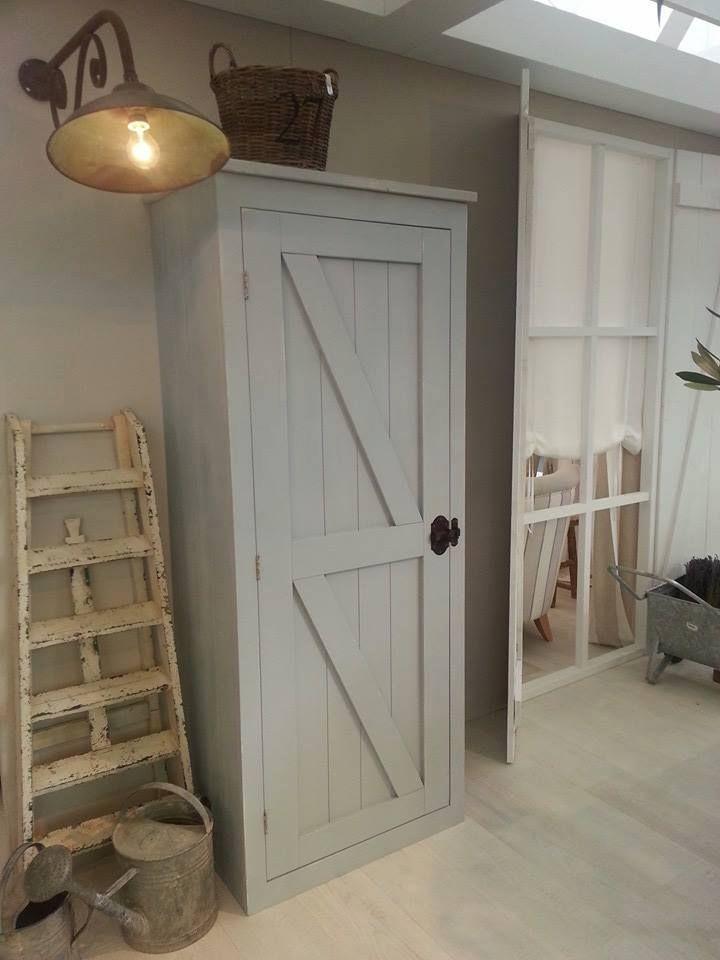 Mooie deur voor de meterkast