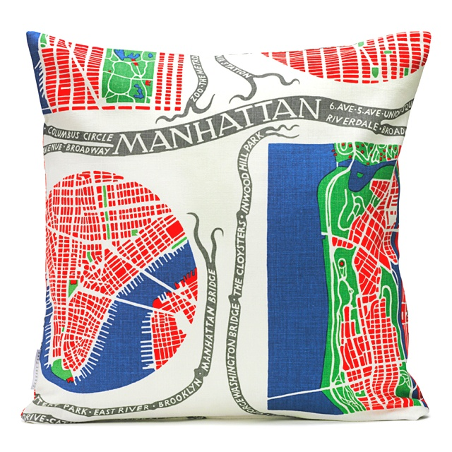 Manhattan pillow by Svenskt Tenn