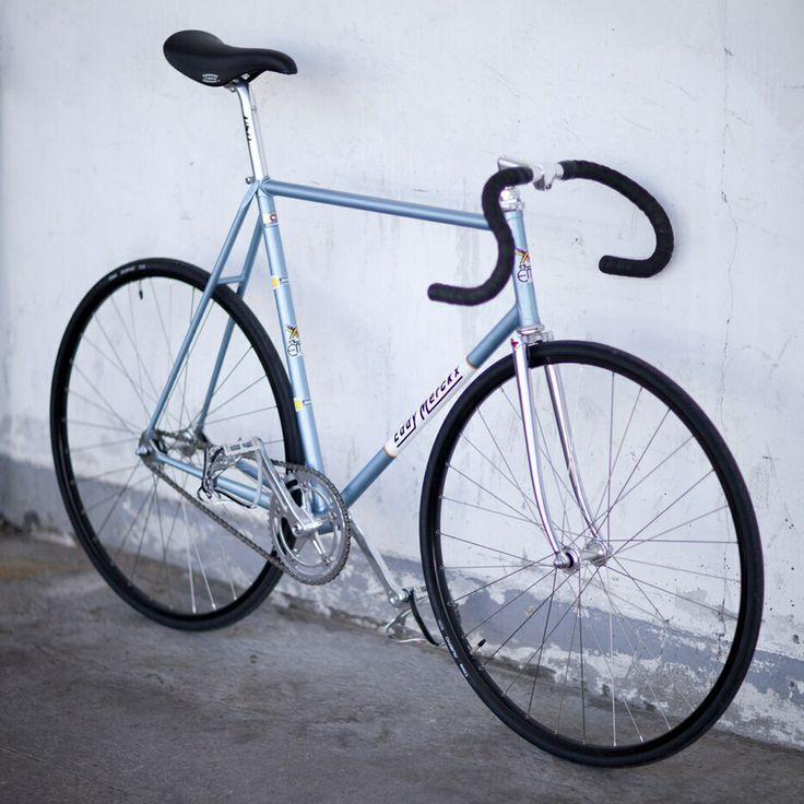 My '85 Eddy Merckx Pro Pista build #eddymerckx #trackbike #fixie