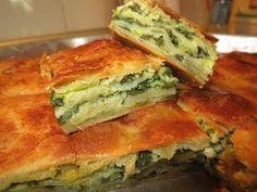Ζουζουνομαγειρέματα: Σπανακοτυρόπιτα με σπιτικό φύλλο