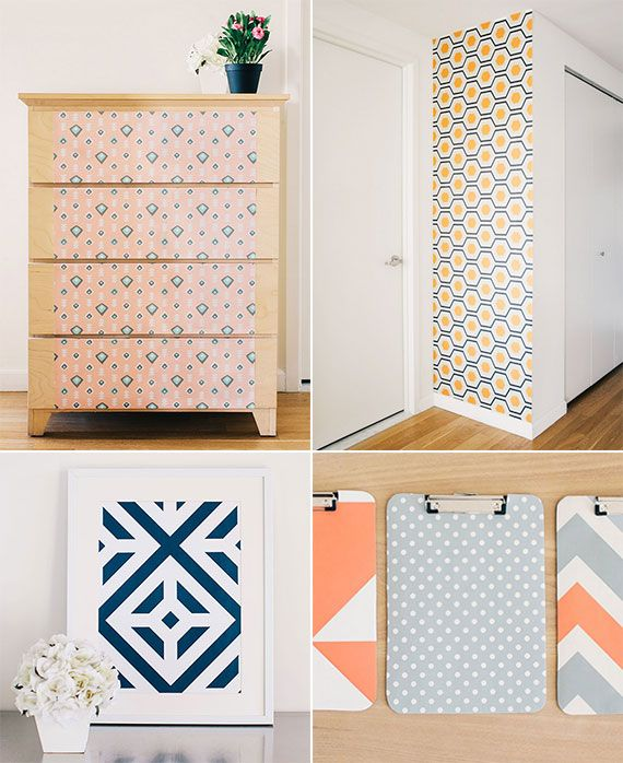 chasing paper temporary wallpaper house pinterest