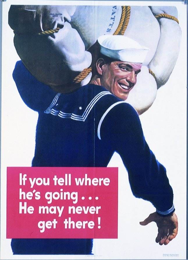 I love these vintage Opsec posters