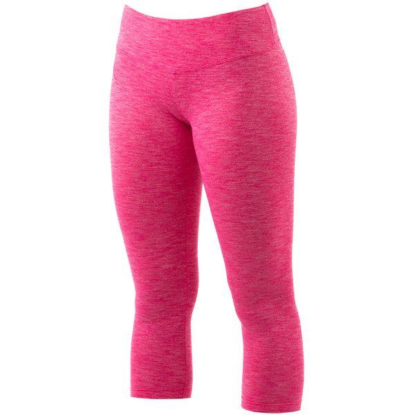 Women's Madison 7/8 Legging ($46) ❤ liked on Polyvore featuring pants, leggings, marled leggings, pink pants, pink trousers, pink leggings and legging pants