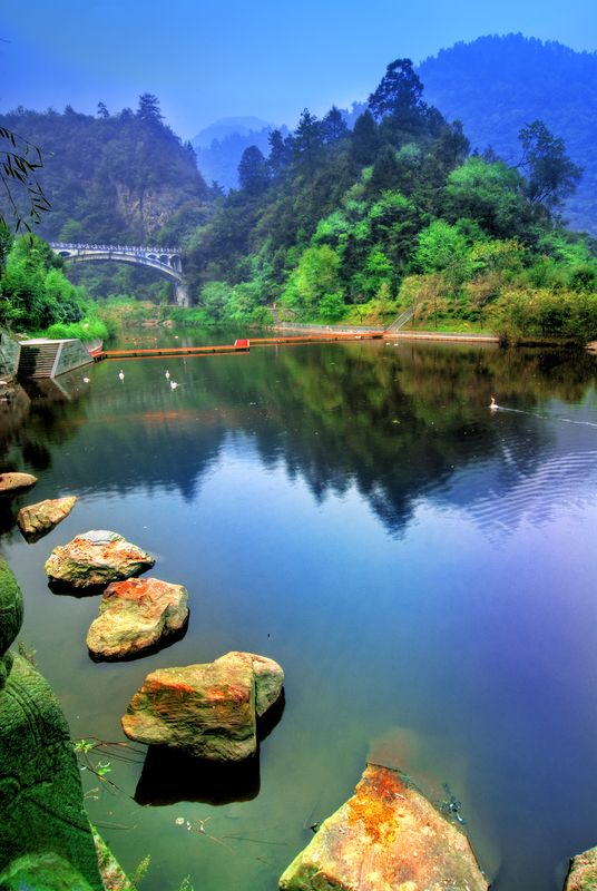 Wudang Shan mountain. Hubei, China