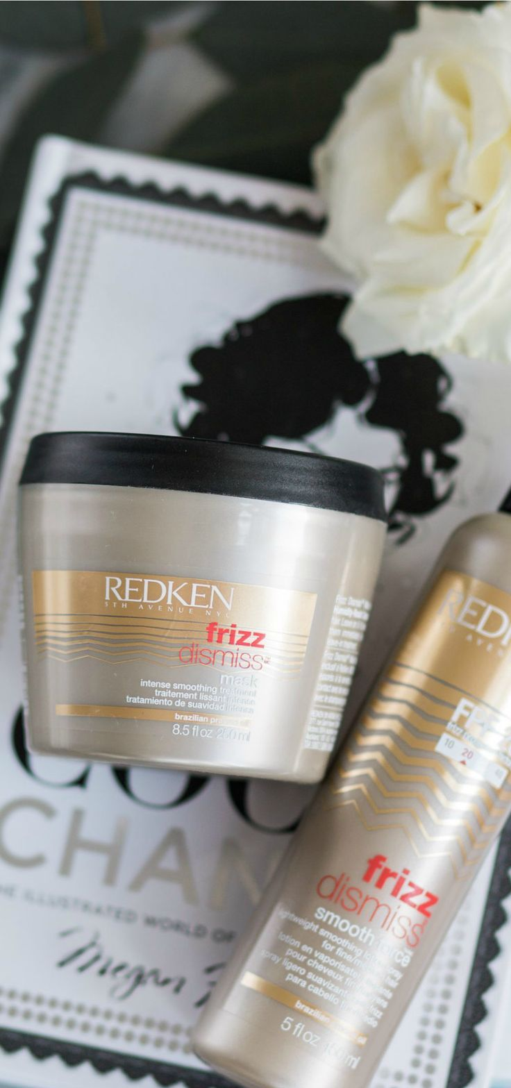 The best anti-frizz hair products for fine hair + Redken Frizz Dismiss Intense Smoothing Treatment review #MyHCLook sponsored by @haircuttery | Best hair products, luxury hair care, Redken conditioning treatment fine hair, fight frizz, beauty review, hair