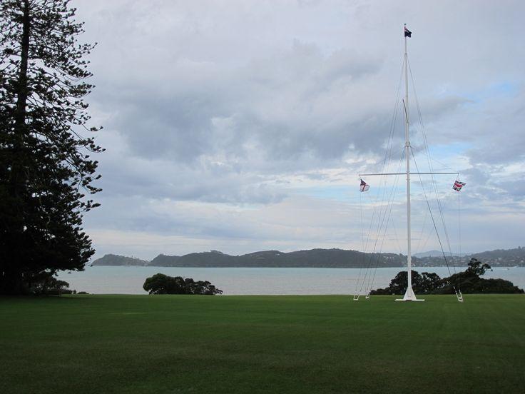 Flagstaff at Waitangi