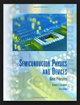 Semiconductor Physics And Devices pdf - Donald Neamen  Pdf download link