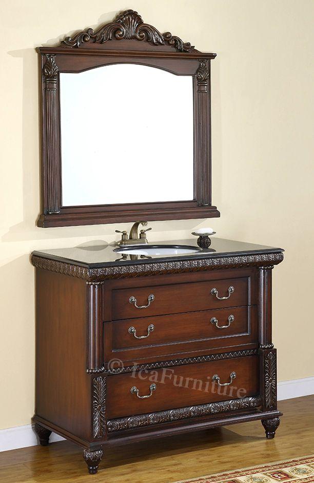 Vanity Cabinet Set #icafurniture