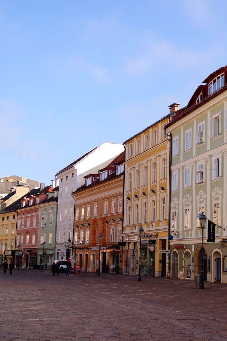 Centre-ville de Klagenfurt (Carinthie, Autriche)