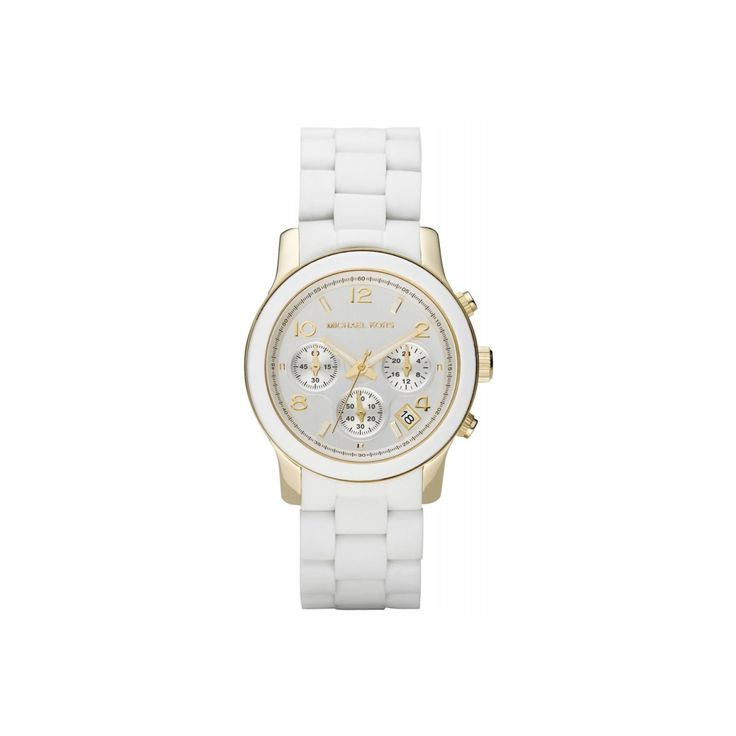 ZEGAREK MICHAEL KORS LADIES WHITE - 73811