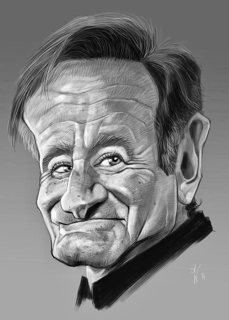 Caricature Drawings Of Famous People Sketch Coloring Page