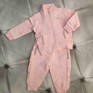 Baby Joggingpak #roze Silvian Heach baby kleding #kids #kinderen #baby #joggingpak #babykleding #kidsfashion #babymode