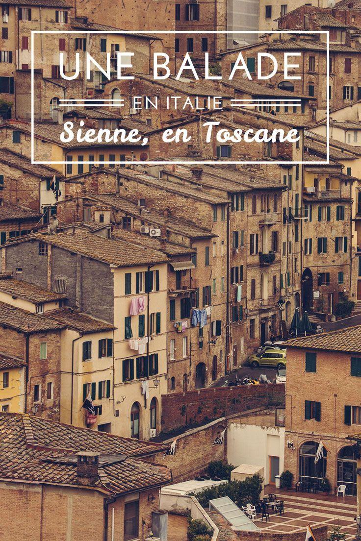Découvrez Sienne en Toscane, Italie #Sienne #Toscane #Italie #Découverte #Voyage #Guide #Information #Visite