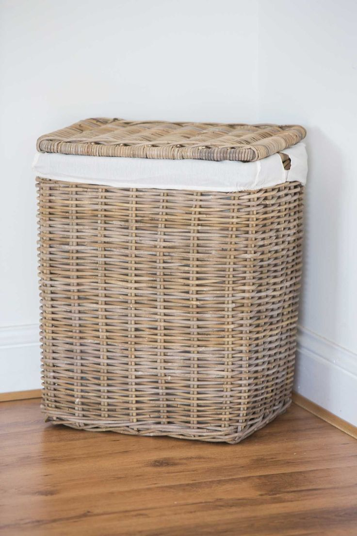 1000 ideas about wicker laundry hamper on pinterest. Black Bedroom Furniture Sets. Home Design Ideas