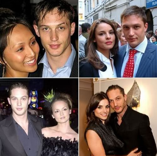 Tom Hardy & Linda Park & Rachael Speed (mother of Louis) & Sarah Ward & Charlotte Riley