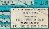 KISS Alive/Worldwide Tour 1996 - 1997