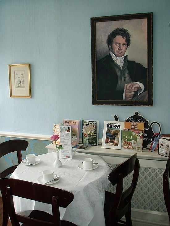 Tea Room at the Jane Austen Centre | Bath, England