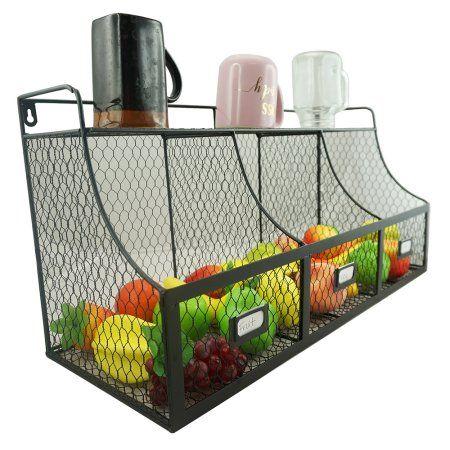 Home Hanging Fruit Baskets Produce Baskets Storage Baskets