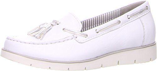 Gabor Damen Mokassin Weiß (weiß) - http://on-line-kaufen.de/gabor/38-5-gabor-portland-damen-mokassin