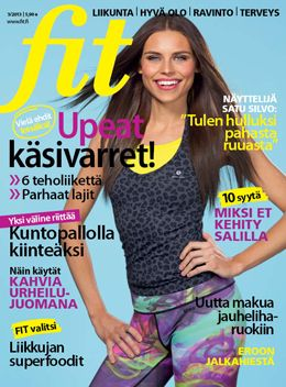 Fit 3/2013 #fitlehti #kansi