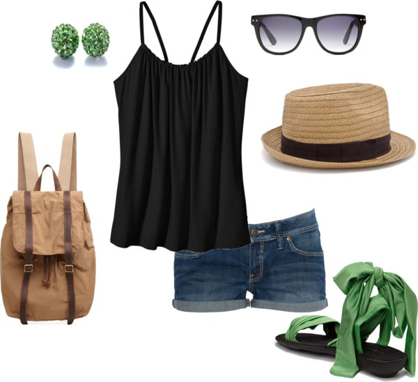 Venice Beach Style, created by bansheeonfire on Polyvore