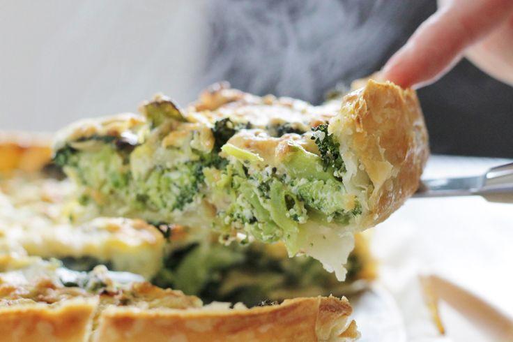 Heerlijke groentequiche! Lees verder voor het recept