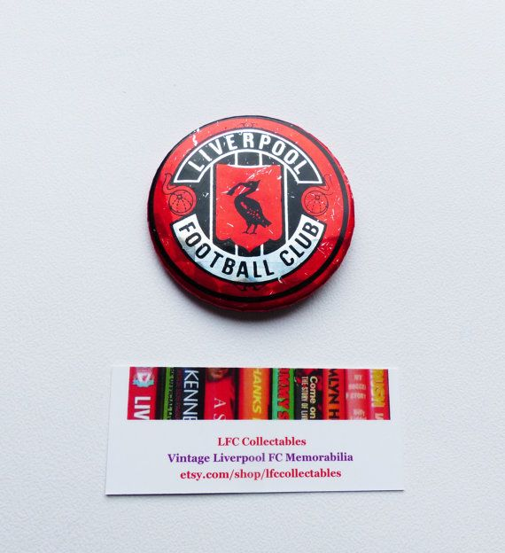 Liverpool Badge by LFCcollectables on Etsy