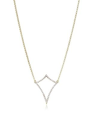 67% OFF Kacey K Large Open Diamond Spear Necklace