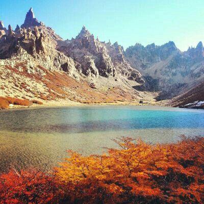 Laguna Toncek, Bariloche, Argentina.