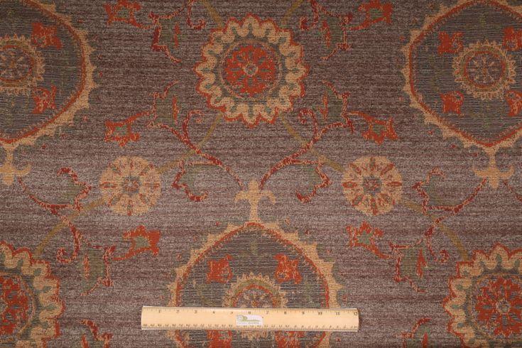 great for craftsman chairs...Textile Fabric Associates :: TFA Casa Grande Chenille Tapestry Upholstery Fabric in Grey $14.95 per yard - Fabric Guru.com: Fabric, Discount Fabric, Upholstery Fabric, Drapery Fabric, Fabric Remnants, wholesale fabric, fabrics, fabricguru, fabricguru.com, Waverly, P. Kaufmann, Schumacher, Robert Allen, Bloomcraft, Laura Ashley, Kravet, Greeff