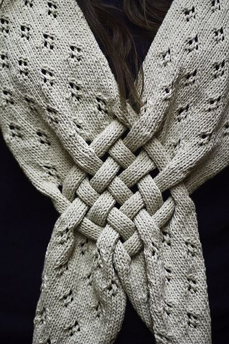 amazing scarf.Knitted Scarves, Celtic Knits Pattern, Knits Scarf, Celtic Knots, Knits Crochet, Knits Scarves, Knots Knits, Scarf Details, Crochet Knits