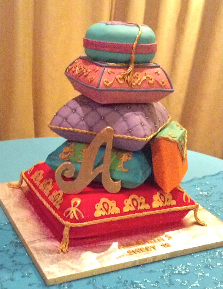 Moroccan Pillow Cake My Cakes Pinterest Sweet
