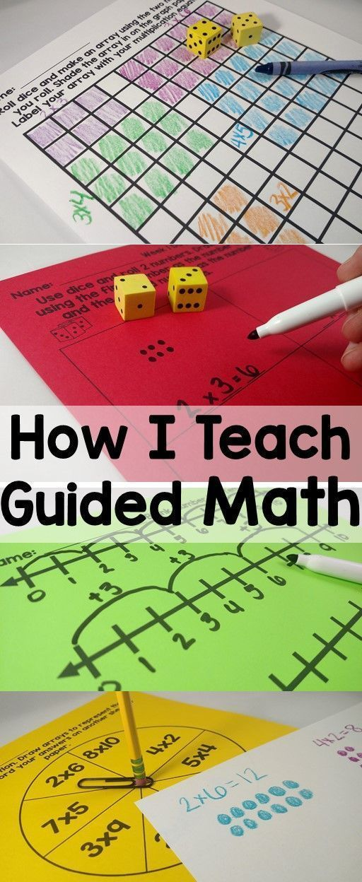 5 easy components for teaching guided math. Simple, solid ideas! - Tap the link to shop on our official online store! You can also join our affiliate and/or rewards programs for FREE!