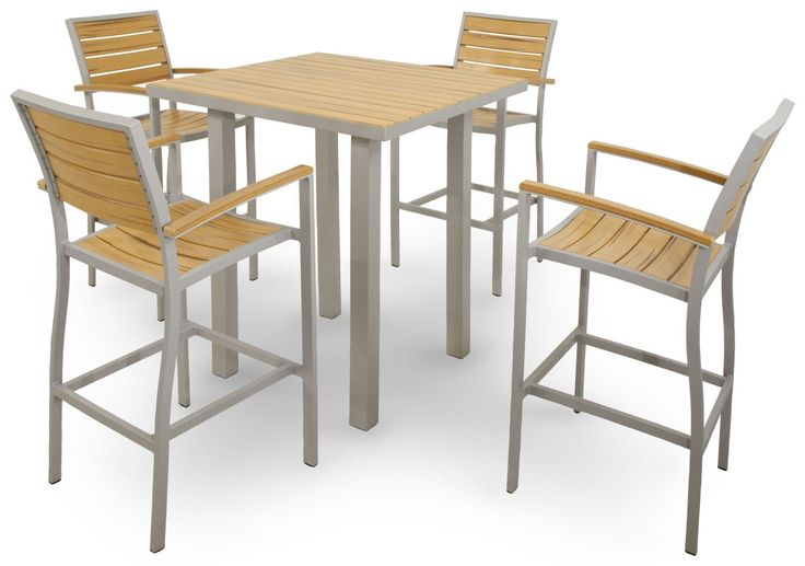Ivy Terrace 5 Piece Bar Height Patio Set
